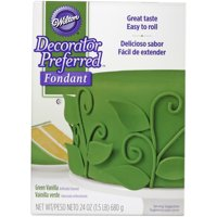 Wilton Decorator Preferred Fondant, Green, 24oz
