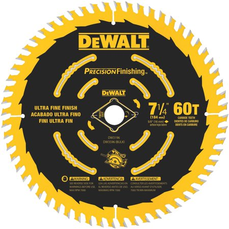 7-1/4 60T Single Precision Framing Saw Blade