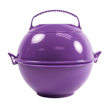 Food Globe To Go 2 Pack Eggplant Lunch Bowl Container