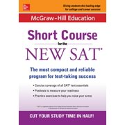 McGraw-Hill Education: Short Course for the New SAT (Paperback)