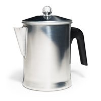 Primula Today Durable Aluminum Stove Top Percolator Maker Durable, Brew Coffee On Stovetop