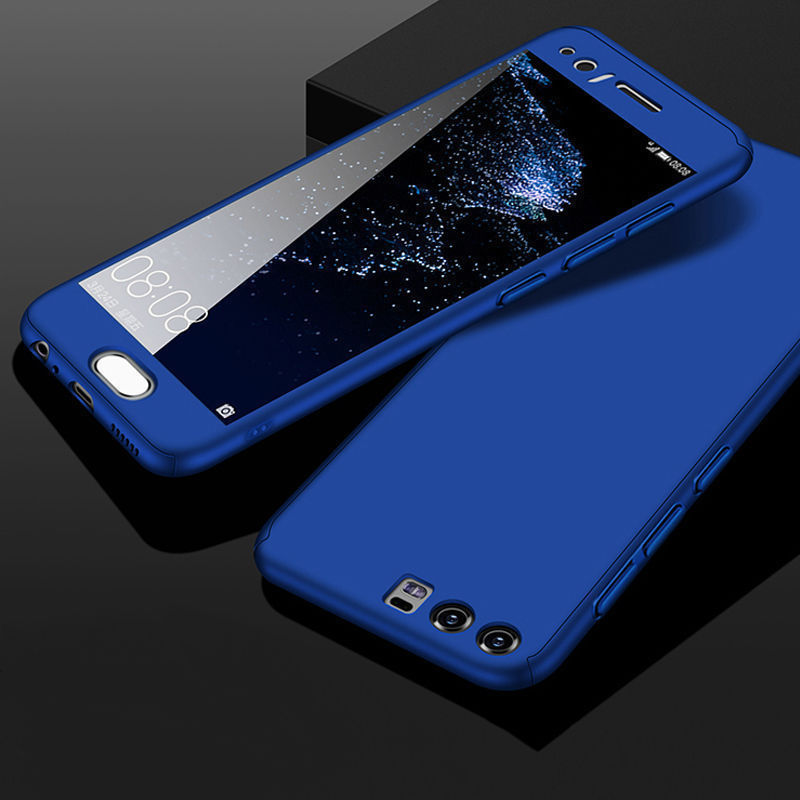 360 All Inclusive Phone Case For Huawei P10 Cover Hard PC Anti ...
