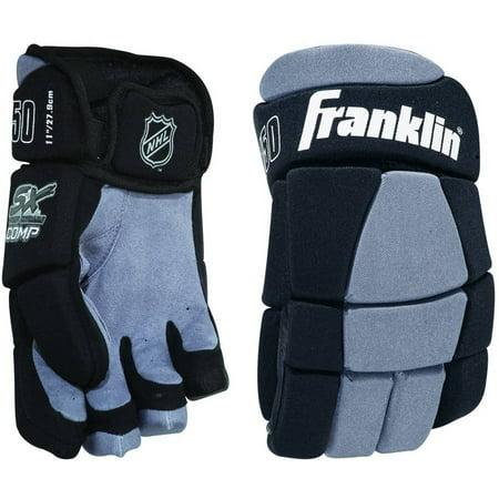 Franklin Sports NHL SX Comp Hockey Gloves 150 Jr, S, (12 Junior Hockey Gloves)