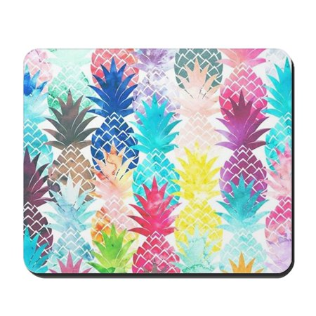 Mouse Pattern - CafePress - Hawaiian Pineapple Pattern Tropical Wate - Non-slip Rubber Mousepad, Gaming Mouse Pad