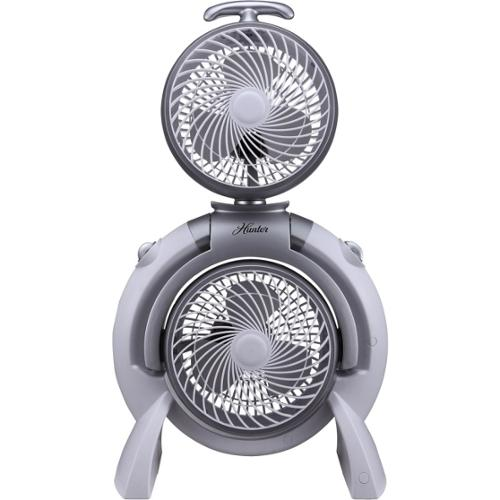 Hunter Fan 3-Speed Dual Fan (FSQQ) - White