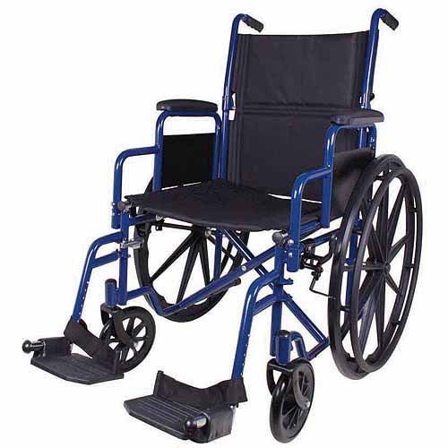 Carex Wheelchair, Blue