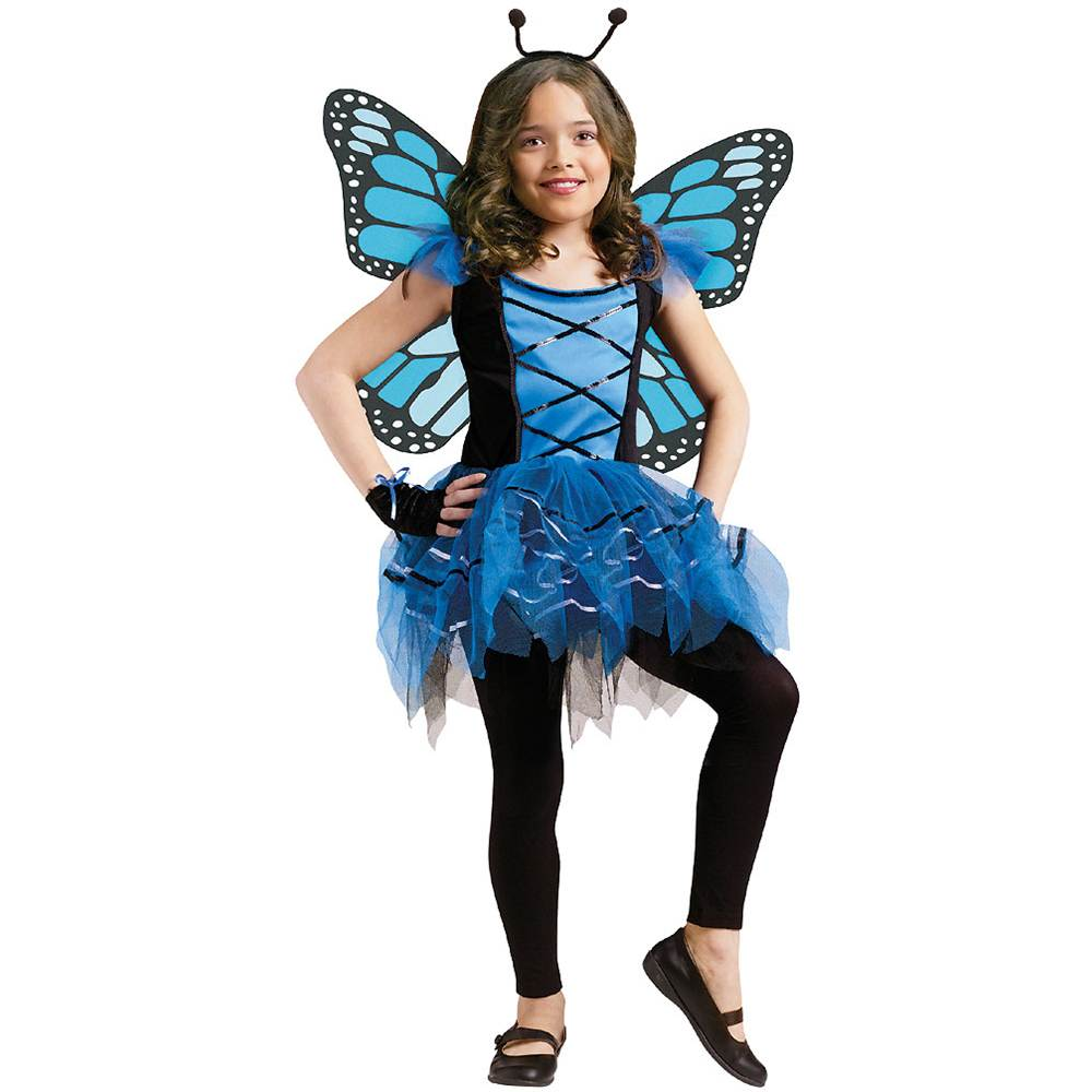 Blue Ballerina Butterfly Kids Costume