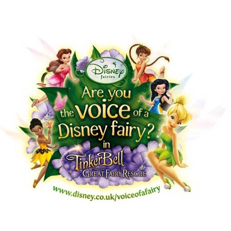 Tinker Bell and the Great Fairy Rescue POSTER Movie Mini Promo - Tinkerbell Movie