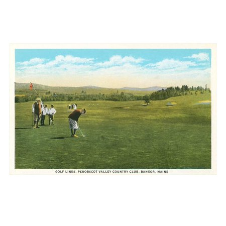 Valley Country Club (Penobscott Valley Country Club, Bangor, Maine Print Wall)