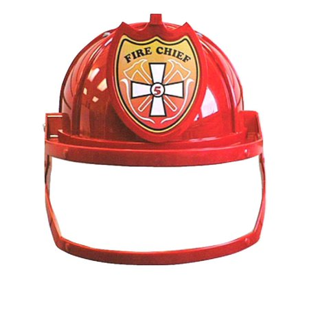 Fire Chief Fighter Man Firefighter Fireman Red Helmet Child Costume Accessory](Firefighter Kids)
