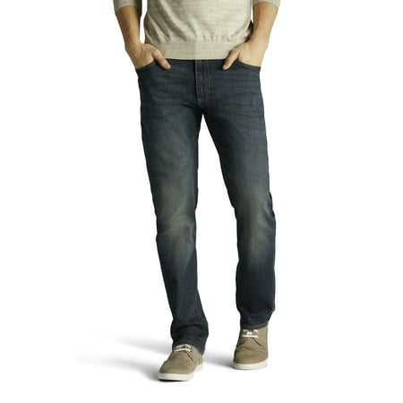 Lee Men's Big & Tall Extreme Motion Straight Fit Tapered Leg Jeans