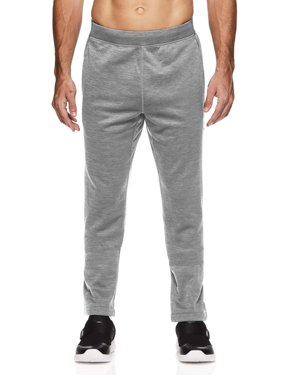AND1 Men's and Big Men's Active Fleece Performance Pants, up to Size 5XL