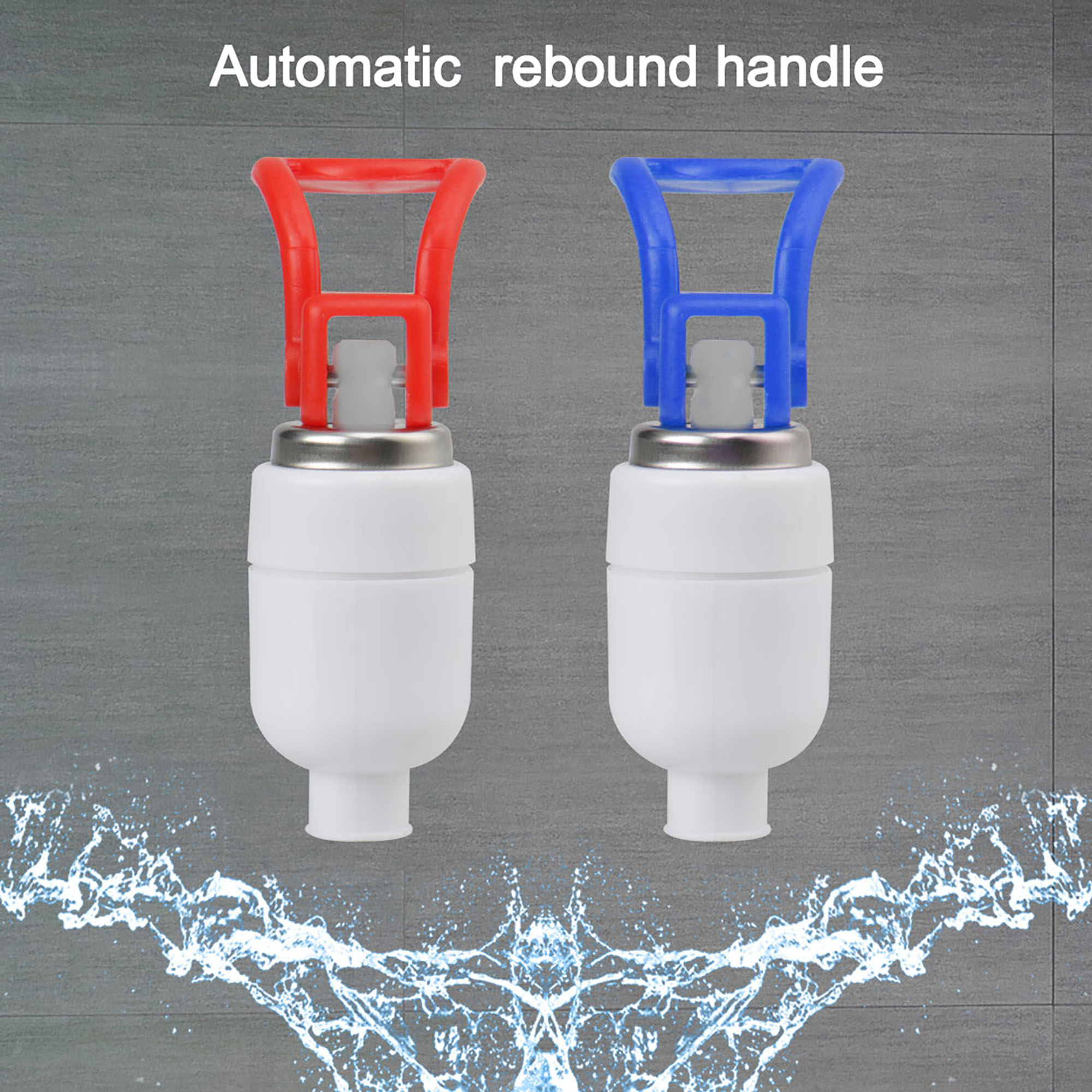 Water Cooler Hot Cold Plastic Faucet Fits Water Dispenser Replacement