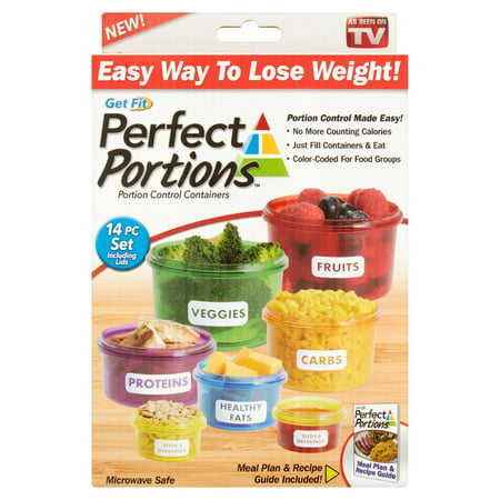 Elite Portion Control - Perfect Portions Portion Control Containers