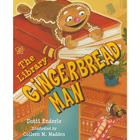 The Library Gingerbread Man](Gingerbread Man Crafts)