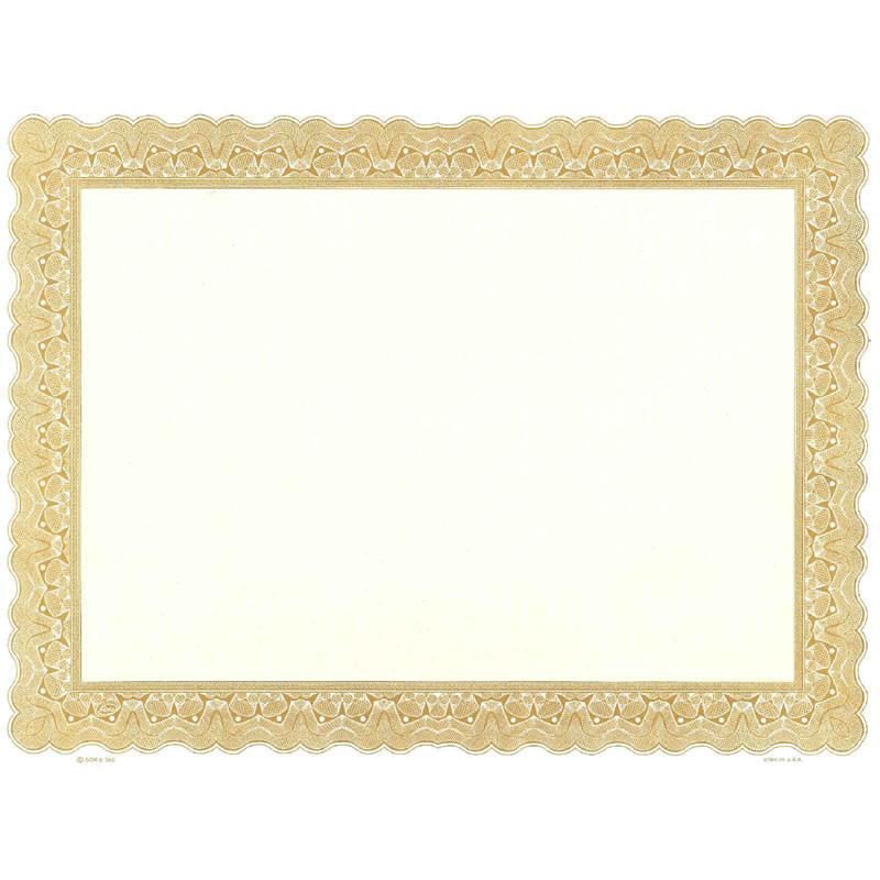 Goes 745 Printable Blank Certificate - Pack of 25