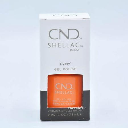 CND Shellac Gel Polish - Gypsy, 0.25 oz