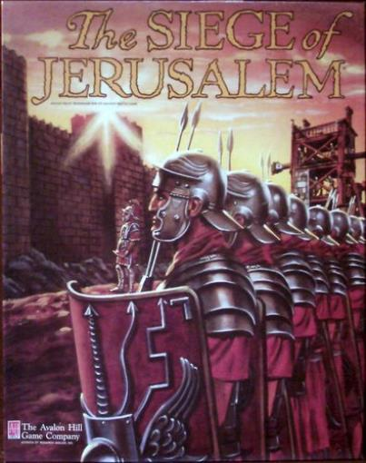 Siege of Jerusalem, The Used by Avalon Hill
