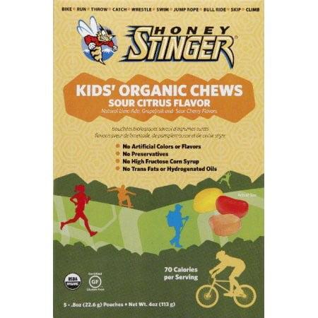 Honey Stinger Organic Kid's Chews, Sour Citrus, .8 oz by Citrus