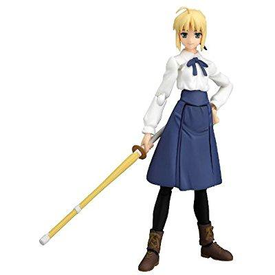 Figma Fate Stay Night (max factory fate/stay night: saber casual version figma action figure )
