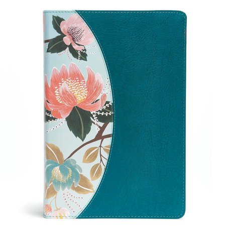 The CSB Study Bible For Women, Teal Flowers (Best Womens Bible Study)
