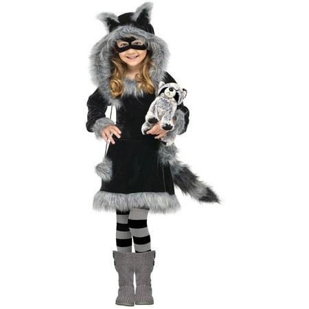 Sweet Raccoon Child Halloween Costume, Small (4-6) (Halloween Raccoon)