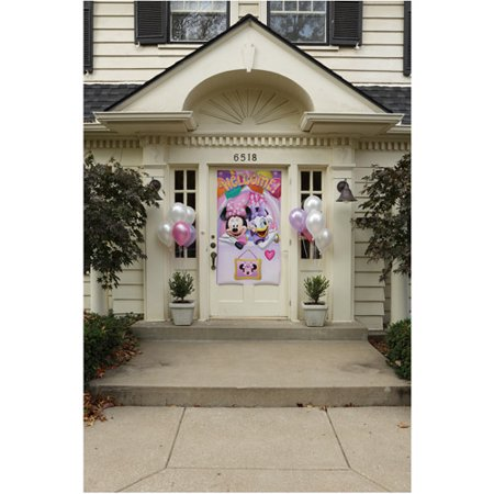 Hallmark Party Disney Minnie Mouse Door Banner (Minnie Mouse Personalized Banner)