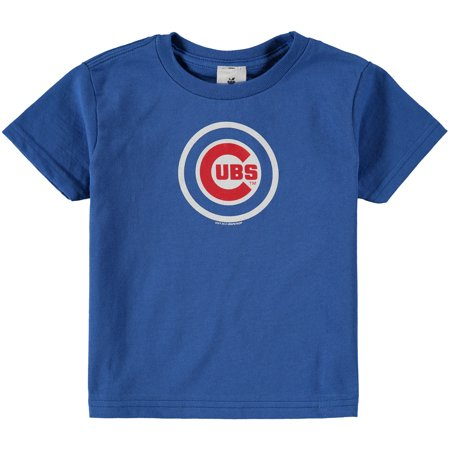 - Chicago Cubs Soft As A Grape Toddler Tiny Fan Wordmark T-Shirt - Royal
