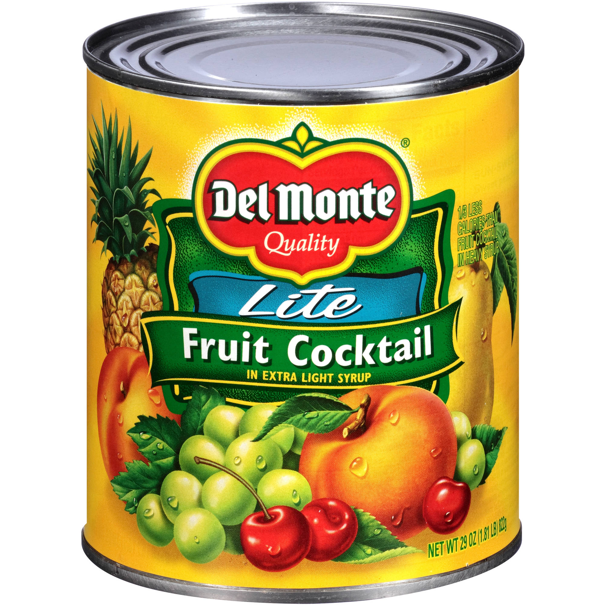 Del Monte Lite Fruit Cocktail in Extra Light Syrup, 29 oz