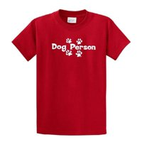 Dog Person T-Shirt Great Dog Lover Tee-military-small