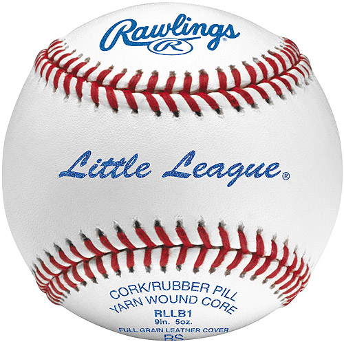 Rawlings Little League-Competition Grade Baseballs, Box of 12