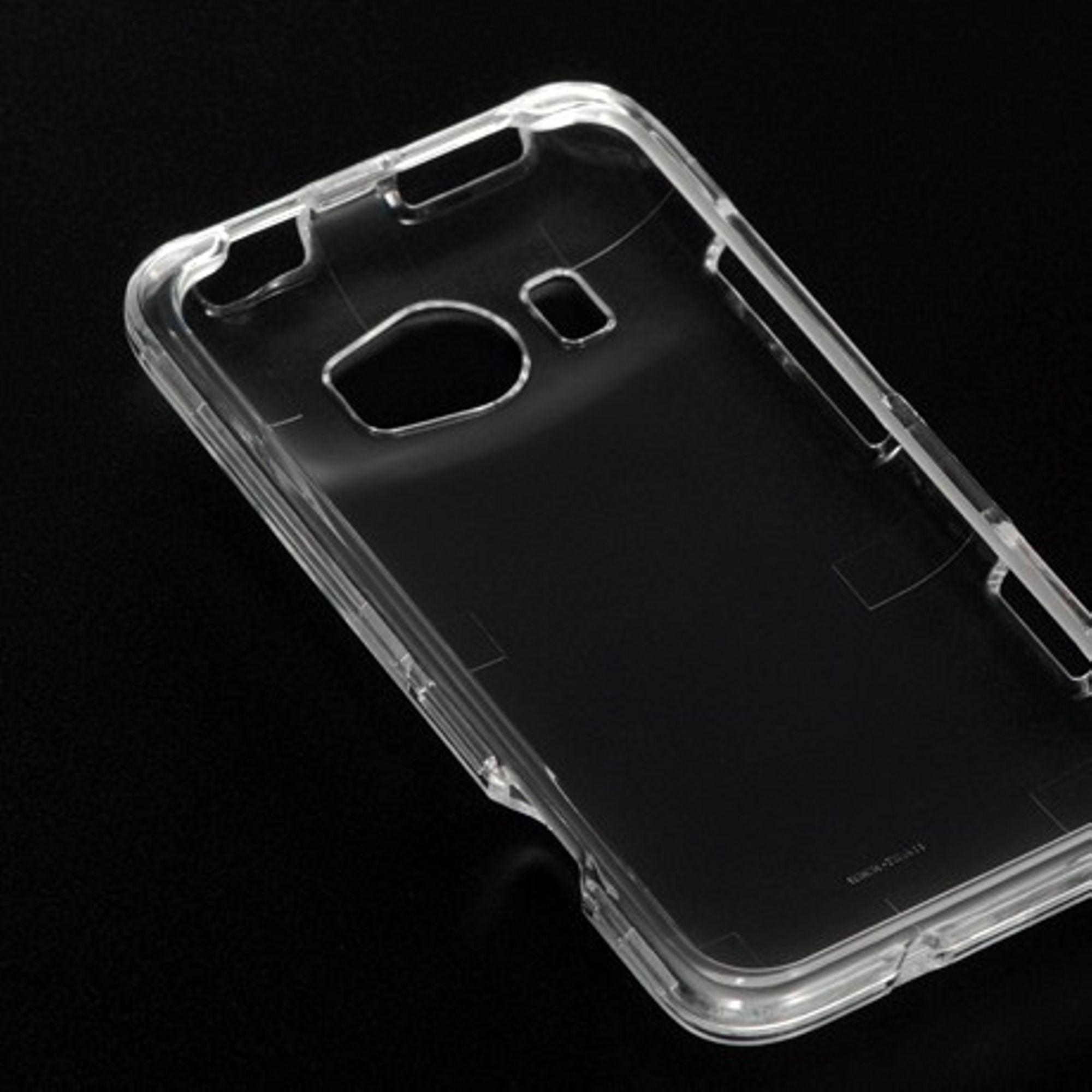 Insten Hard Plastic Case For HTC Titan II - Clear