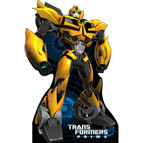 Bumblebee Transformers Cardboard Stand-Up, 6ft by Shindigz