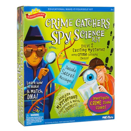 Math Explorer - Scientific Explorer Crime Catchers Spy Science Kit