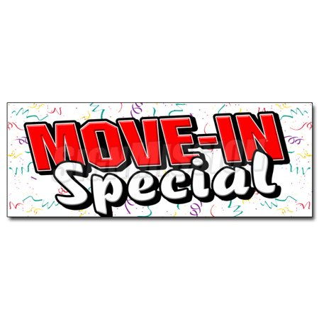 24  Move In Special Decal Sticker Apartment Rental Rent Storage  Rent Home