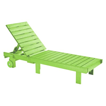 CR Plastic Generations Chaise Lounge with Wheels