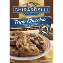 Baking Mixes: Ghirardelli Triple Chocolate Cookie Mix