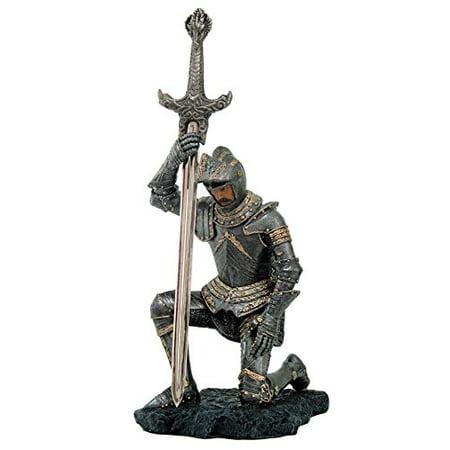 Medieval Knight of Honor Letter Opener Desktop Decor 7.5 Inch Tall Templar Knight Letter Opener