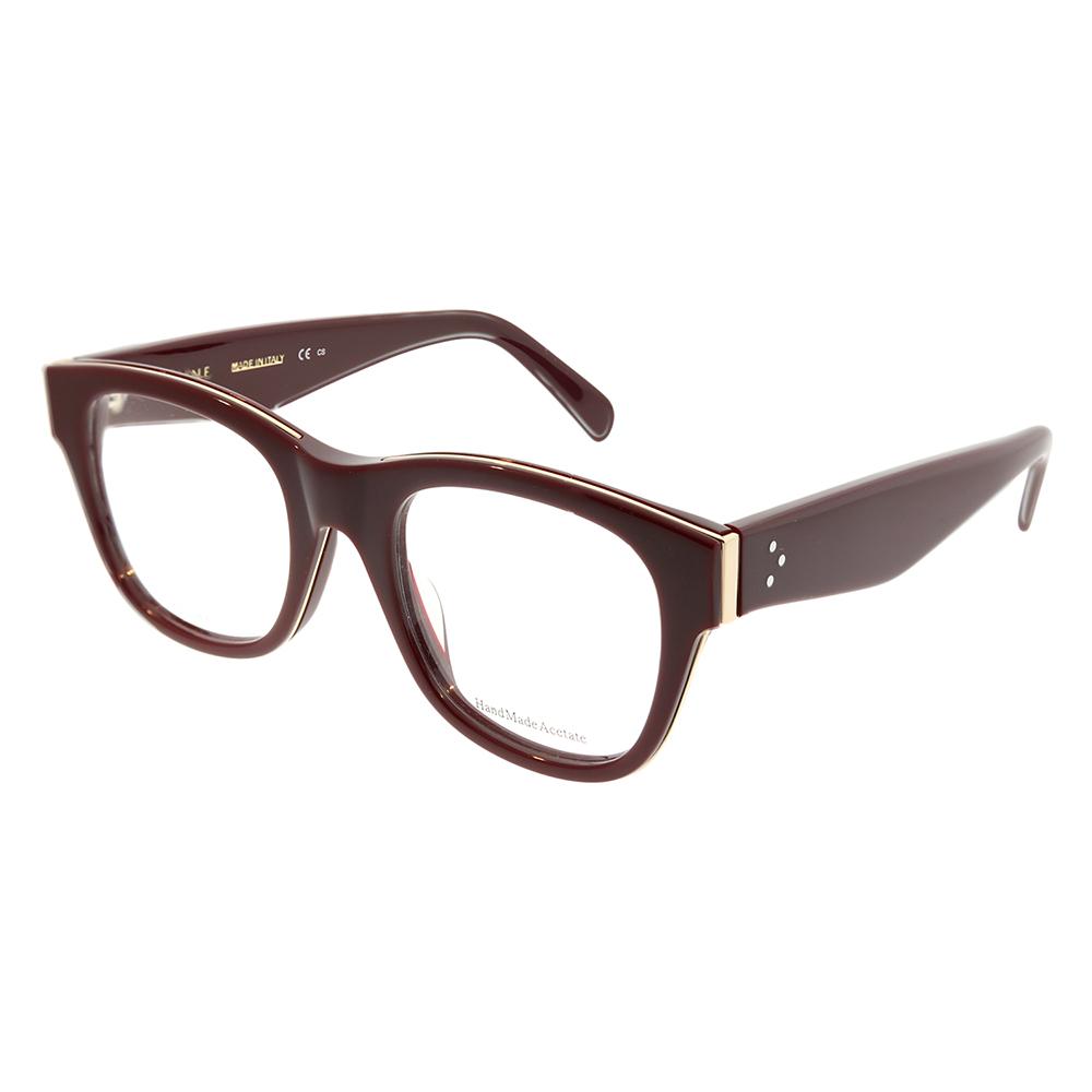 85732d39319 Celine Strat Brow CL 41364 D65 Unisex Square Eyeglasses - Walmart.com