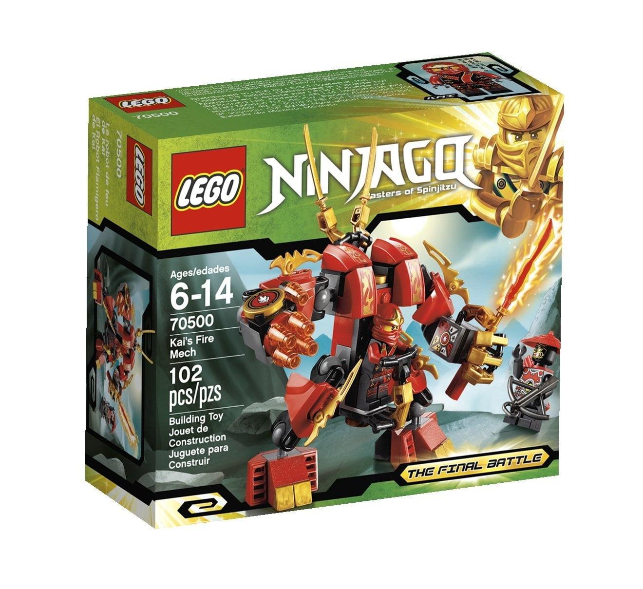 Lego Ninjago Kais Fire Mech 70500 (Discontinued by manufa...