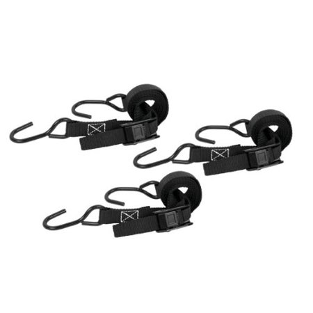 Midi Coated Buckle - Cam Buckle Strap Vinyl Coated Steel Hooks Up to 400 Pounds 1