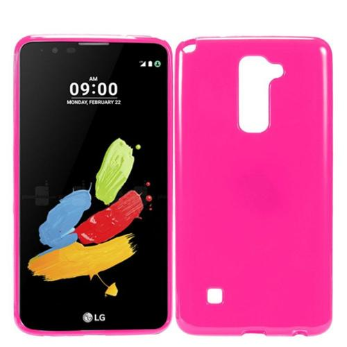 Insten Gel Case For LG K10 - Hot Pink