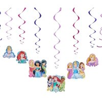 Disney Princess Hanging Party Decorations, 12pc