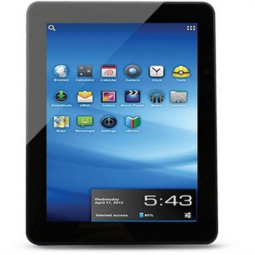 Refurbished Android 4.0 8GB Trio Stealth Pro Internet 9.7in Tablet - Black