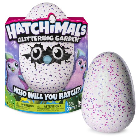 Cp You Will Get 1 Spin Master Hatching Egg And Interactive Sparkly Penguala Hatchimals Glittering Garden   515327