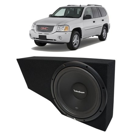 "02-09 GMC Envoy SUV Rockford Prime R1S412 Single 12"" Custom Sub Box New 4 Ohm"