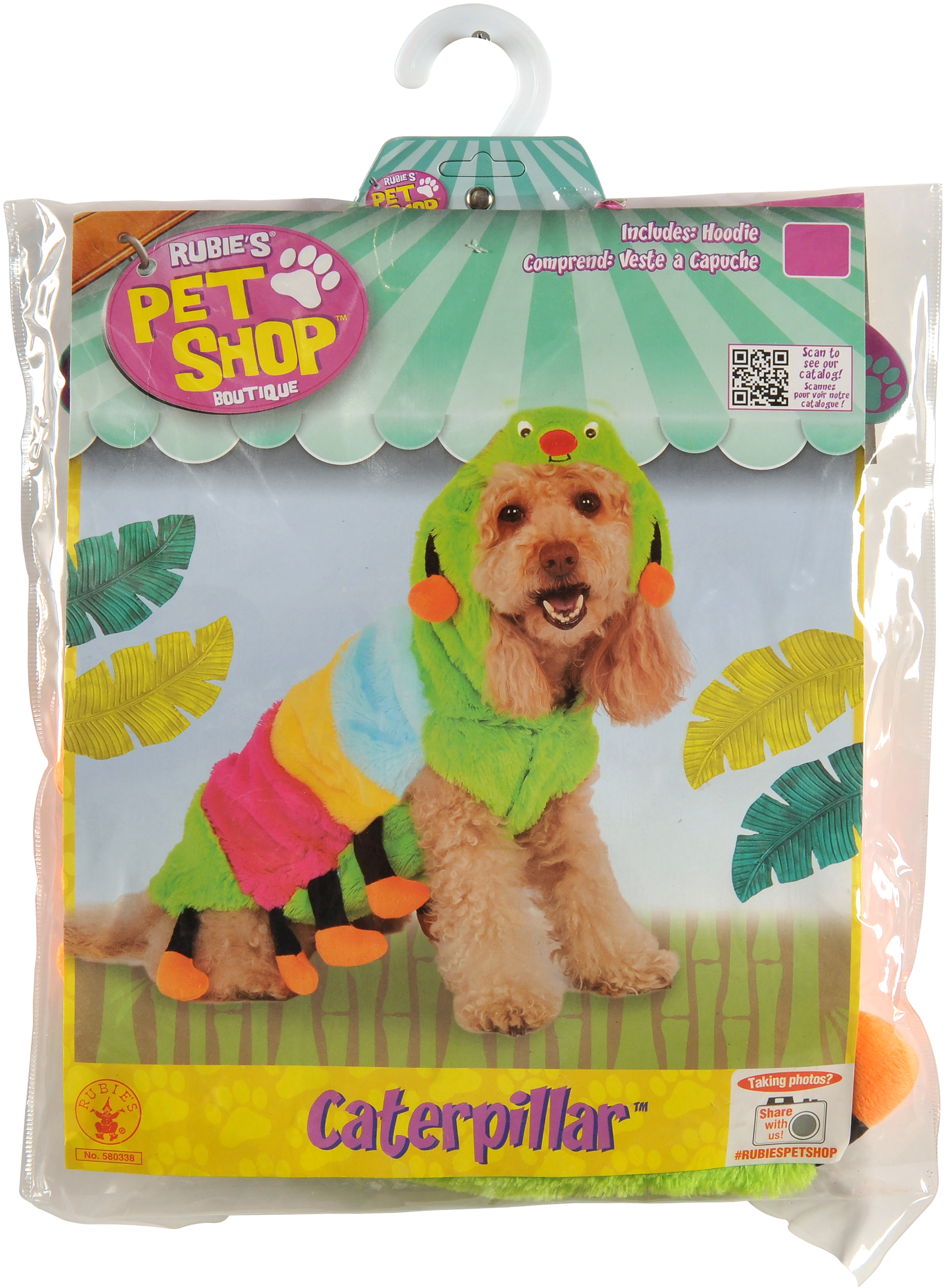 Rubieu0027s Caterpillar Cutie Pet Costume - Extra Small  sc 1 st  Walmart & Rubieu0027s Caterpillar Cutie Pet Costume - Extra Small - Walmart.com