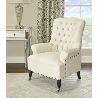 Linon Pierre Chair, Linen