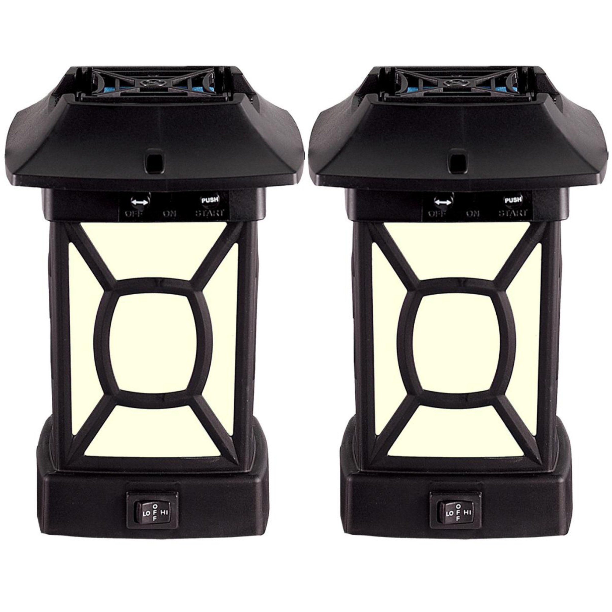 ThermaCELL Outdoor Mosquito Repeller + Lantern, Cambridge Patio Shield, 2-Pack by Thermacell