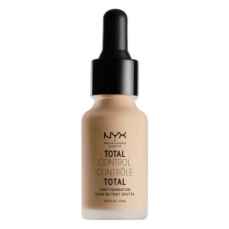 NYX Professional Makeup Total Control Drop Foundation, Natural